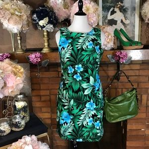 AGB TROPICAL LEAVES DRESS (14)